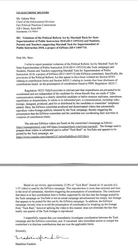Tuck.FPPC.Complaint